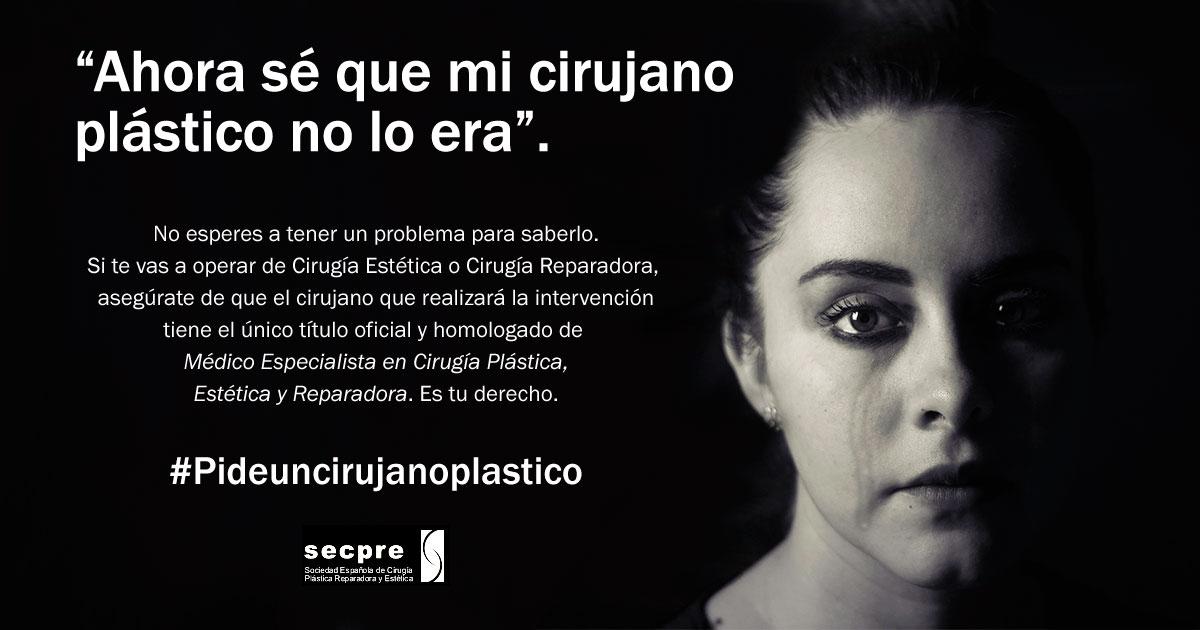 Campaña #Pideuncirujanoplastico