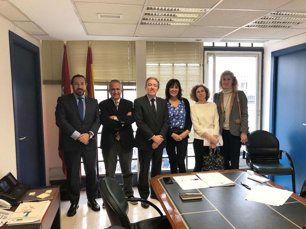 Reunión de la SECPRE con la Consejería de Sanidad de la Comunidad de Madrid