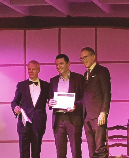 Premio de EURAPS al Dr. Juan Barret